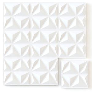 Panel decorativo 3D - triangulos