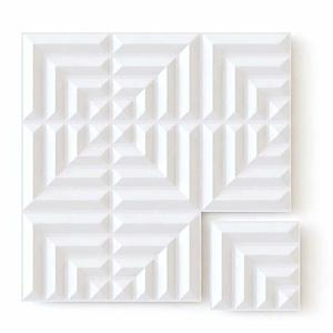 Panel decorativo 3D - Laberinto