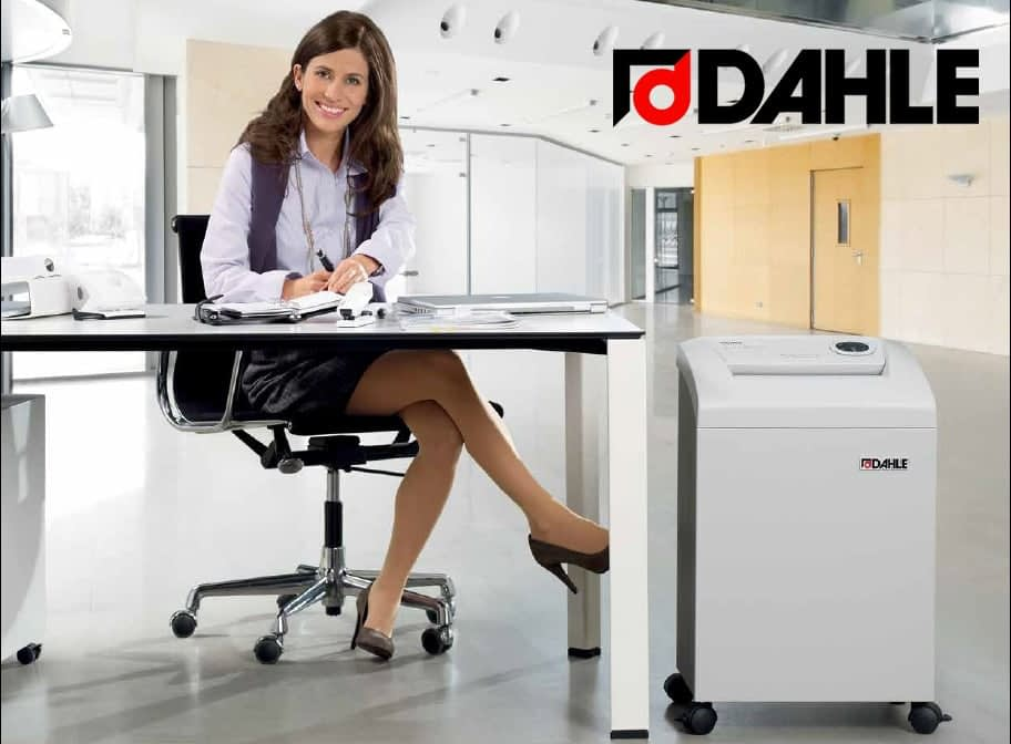 Destructoras de documentos alemanas marca DAHLE